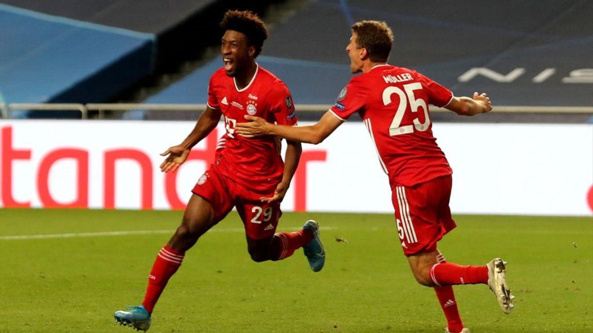 Bayern Champions Coman