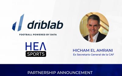 HEA Sports se une a Driblab para potenciar el análisis futbolístico en África y Asia
