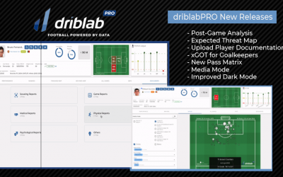 driblabPRO Release Notes March '21