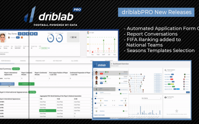 driblabPRO Release Notes April '21