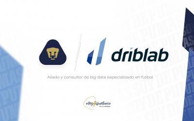 Pumas y Driblab anuncian acuerdo de colaboración